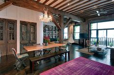 new york commercial lofts | Magnificent loft renovation incorporating Feng Shui