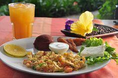 Desayuno tipico salvadoreña