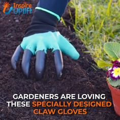 Claws Garden Gloves - ⭐⭐⭐⭐⭐ Claws Garden Gloves - ⭐⭐⭐⭐⭐ Gardening made easy with these Claws Garden Gloves. It is specially designed to make digging of soil fast and easy without using any tools while also protecting your hands. Currently O Outdoor Projects, Garden Projects, Garden Tools, Garden Ideas, Lawn And Garden, Garden Art, Garden Design, Easy Garden, Rocks Garden