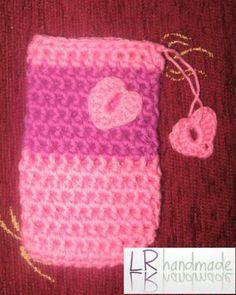 Crochet cell phone cover/heklana torbica za mobilni telefon