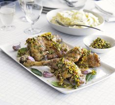 There's nothing nicer than crispy roast chicken with mash, but the addition of fresh salsa lifts the dish to new levels