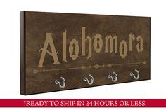 Brown  Alohomora-Key Holder  Harry Potter von QuickShipGifts