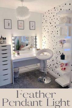 Beauty Room Decor, Makeup Room Decor, Makeup Rooms, Room Ideas Bedroom, Bedroom Decor, Bedroom Furniture, 1920s Bedroom, Master Bedroom, Furniture Design