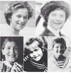 All the children have gaps in there teeth like Alexandra. It must be a Hesse trait as Prince Edward Earl of Wessex has it as do his children Louise and James.