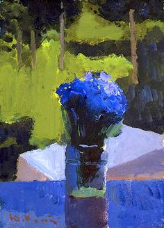 Cornflowers Yuri Konstantinov Category painting Material cardboard Technics oil Height 37 cm Width 22 cm Year of creation 2006 Art Floral, Art And Illustration, Douglas Adams, Russian Art, Russian Painting, Painting Gallery, Art Music, Love Art, Painting Inspiration