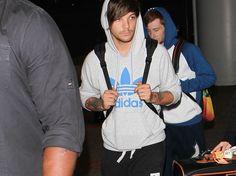 Louis tomlinson airport
