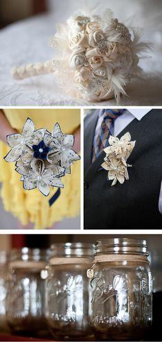 DIY Vintage Wedding Decorations | vintage diy north carolina garden wedding, real weddings ideas and ...