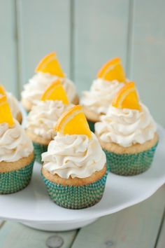 Orange+Creamsicle+Cupcakes