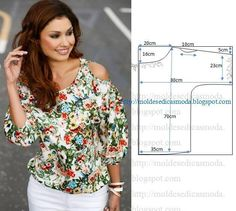Nice blouse. Diy