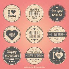 Recopilación de recursos para desarrollar proyectos y diseños para el día de la madre. ¡Sigue leyendo si estás buscando vectores!