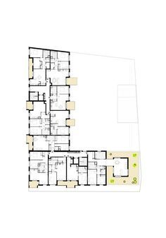 Gallery Of Zac Bassins A Flot Hamonic Masson Associes 30 In 2020 Residential Building Plan Floor Plans How To Plan