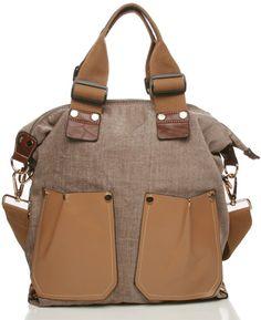 Julia Canvas Convertible Bag in Natural $65