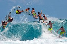 Surfing superstar Jordy Smith | Community Post: 17 Awesomely Exhilarating Stop Motion Photos Of Extreme Sports
