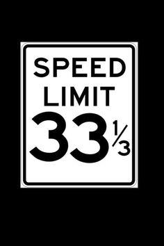 Sometimes I break the law doing 45