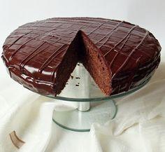 Sacher, Death By Chocolate, Hungarian Recipes, Sweet And Salty, Tiramisu, Tart, Muffin, Dessert Recipes, Pudding
