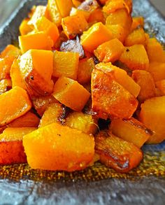 Healthy and Gourmet: Caramelized Pumpkin with Maple Sugar and Ginger