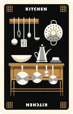 Clue Kitchen, Andrew Kolb