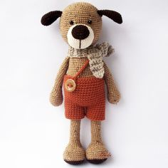 Max the dog - FREE Amigurumi Pattern