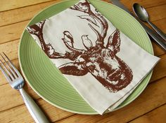 love this napkin.  Viva Sweet LOve- Etsy