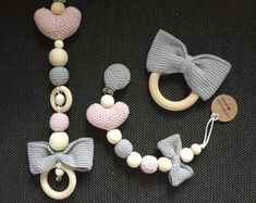 Romantic Etsyshop with crochet baby products
