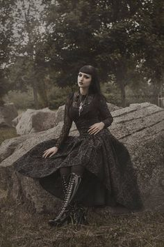 Model: Obsidian KerttuBlouse and skirt: JawbreakerNecklace: @[331167496863:274:♥ My Lovely Boutique ♥]Boots: Victoria Poison ShopPhoto: Martina Špoljarić photographyWelcome to Gothic and Amazing |www.gothicandamazing.org