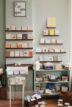 How a Retailer Preps for the National Stationery Show via Oh So Beautiful Paper: http://ohsobeautifulpaper.com/2014/05/hello-brick-mortar-retailer-preps-nss/ | Post: Emily of Clementine Store | Photo: Jessica Anderson Photography