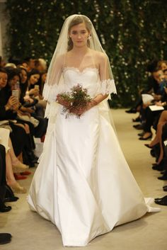 Carolina Herrera Bridal Spring2016 http://wwd.com/runway/bridal-spring-2016/review/carolina-herrera/slideshow/#!6/carolina-herrera-bridal-spring-2016-5/