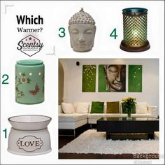 Which Scentsy warmer would you choose? https://scentsbyang.scentsy.us facebook.com/scentsbyang
