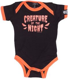 Sourpuss - Creature of the Night Baby Onesie