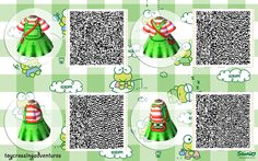 A wide choice of qr codes for Animal Crossing New Leaf and Happy Home Designer