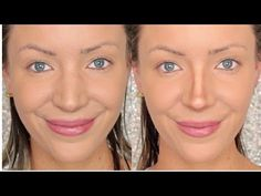 She Outlines The Bridge Of Her Nose For A More Sculpted Look