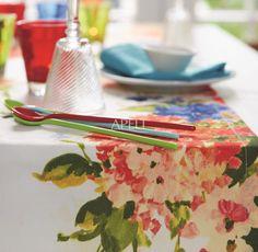 Tischdecke, getupfte Blume von Apelt, Artikel 4039