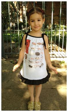 Turn a T-Shirt into a Sundress.     @Prudent Baby tutorial.