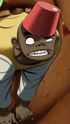 Gorillaz, All Art, Cool Bands, Good Music, Aud, My Arts, Celebs, Animation, Artists