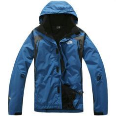 Cheap Men North Face Gore Tex Water Blue Jacket uk  http://www.outdoorgeargals.com
