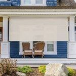 Shop Exterior Solar Shades at Blinds.com. Get free samples, view product videos, read customer reviews, and customize your shades to fit your needs. Solar Screens, Privacy Screens, Porch Shades, Deck Repair, Privacy Fence Designs, Rocking Chair Porch, Architecture Concept Drawings, Outdoor Sun Shade, Solar Shades