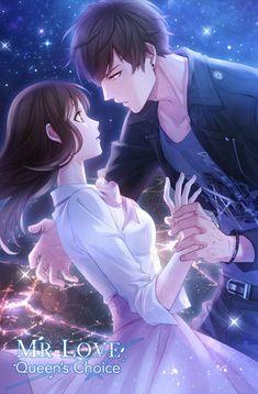 Couple Anime Manga, Anime Love Couple, Anime Couples Drawings, Anime Couples Manga, Cute Anime Couples, Manga Romance, Anime Amor, Handsome Anime Guys, Manga Love