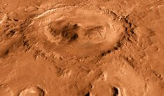 Mars' Turbulent Winds Can Make Mountains in Impact Craters | Physics, Planetary Science | Sci-News.com