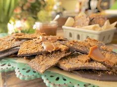 Homemade Candy Bars with Chunks of Cookies and Caramels Recipe : Damaris Phillips : Food Network