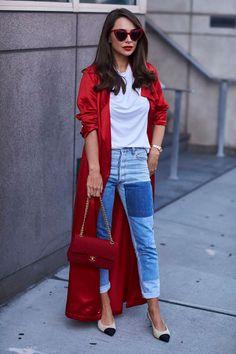 Sé una chica de rojo y róbate todas las miradas vistiendo este poderoso color!