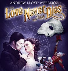 Australia's production of LND. Featuring Ben Lewis as the Phantom and Anna O'Byrne as Christine.