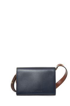 VICTORIA BECKHAM Mini Leather Shoulder Bag. #victoriabeckham #bags #shoulder…