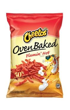 Oven Baked Flamin' Hot Cheetos, 1.5 oz Bags (Pack of 48)