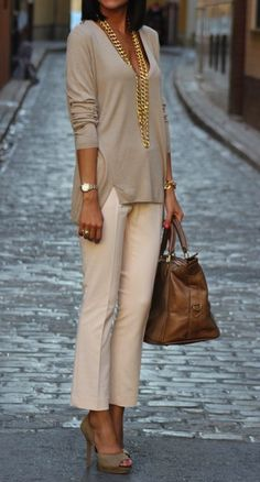 Classy Work Outfits Ideas For The Sophisticated Woman, classy outfits work summer style Classy Work Outfits, Summer Work Outfits, Work Casual, Casual Chic, Casual Summer, Spring Outfits, Classy Chic, Effortless Chic, Outfit Summer