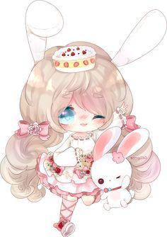 by on DeviantArt Chibi Kawaii, Cute Anime Chibi, Kawaii Anime Girl, Kawaii Art, Anime Art Girl, Cute Animal Drawings Kawaii, Kawaii Drawings, Cute Drawings, Chibi Girl Drawings