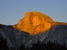 Sunset Half Dome Lodge