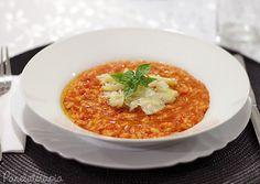 Panelaterapia | Risoto de Tomate com Lascas de Bacalhau | http://panelaterapia.com
