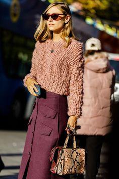 Fashion week street style winter colour 51 Ideas for 2019 Style Work, Look Street Style, Street Style Trends, Spring Street Style, Mode Style, Street Styles, Spring Style, Spring Summer, Cool Street Fashion