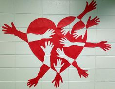 My students made this as a group out of bulletin board paper. - Chad Brown Gulfport, MS