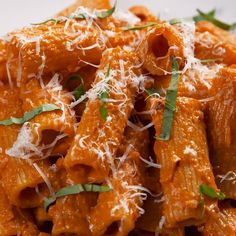 Vegetarian Recipes, Cooking Recipes, Healthy Recipes, Vodka Sauce, Snacks Für Party, Healthy Eating Tips, Food Videos, Recipe Videos, Pasta Dishes